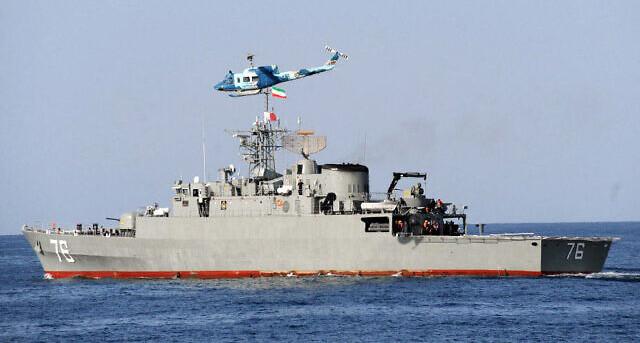 Iran Navy's friendly fire strikes own ship, killing 19 sailors