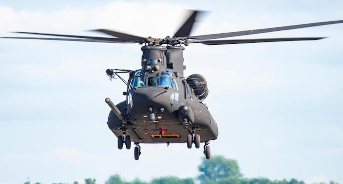 Boeing delivers first Block II Chinook to US Special Operations Command