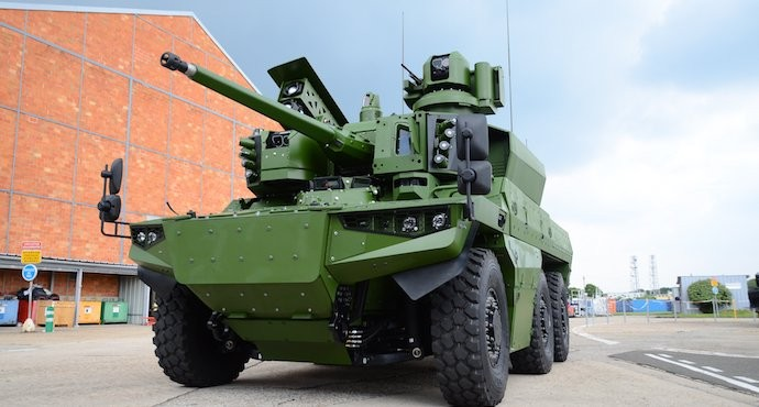 France orders 313 Griffon and Jaguar armored vehicles