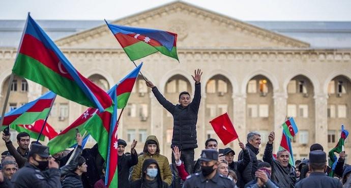 Azerbaijan celebrates 'Victory', protests erupt in Armenia after Nagorno-Karabakh deal