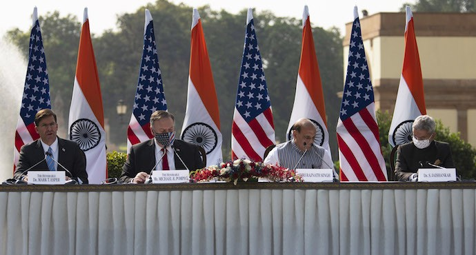 US and India sign new defense pact