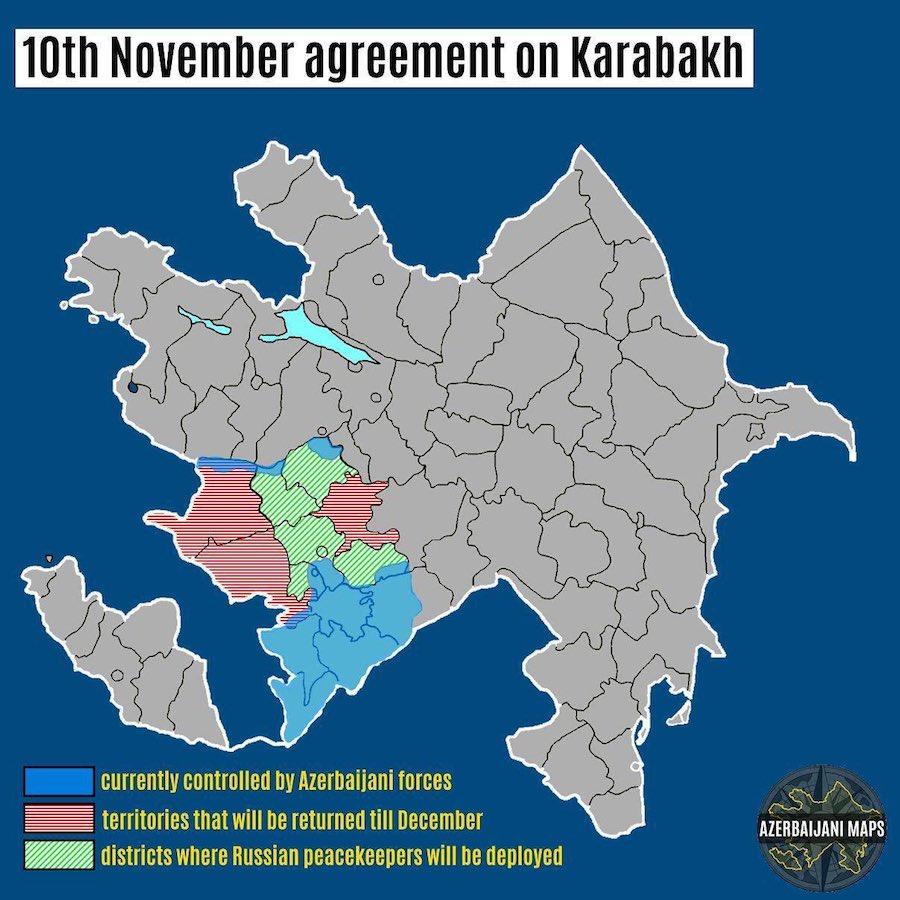 November 10 agreement between Azerbaijan and Armenia