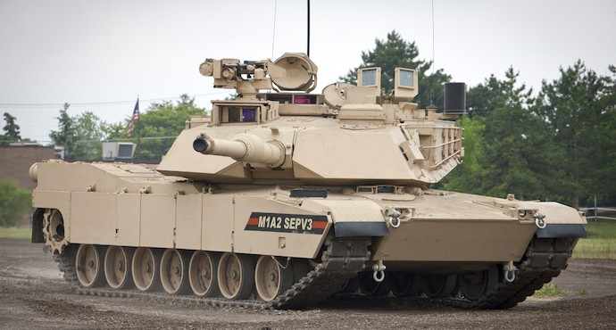 GD awarded $4.6 billion upgraded M1A2 Abrams tanks contract