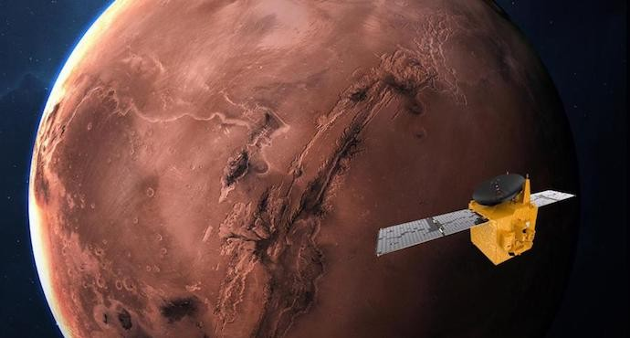 UAE becomes first Arab country to reach Mars with its Hope probe