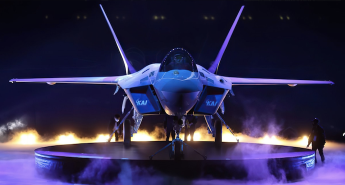 South Korea joins elite group of countries as it unveils its own fighter jet