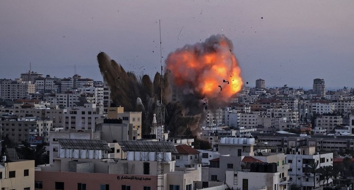 Gaza death toll nears 200 after deadliest day of Israeli attacks
