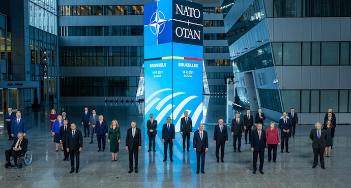 NATO leaders agree to strengthen alliance, calls out Russia and China